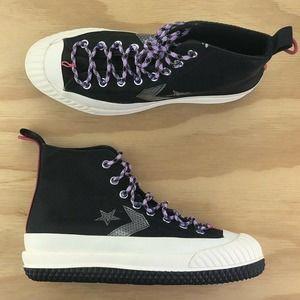 Converse Bosey MC High Top Black Boot Sneakers